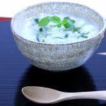 【七草粥】1月7日、春に萌え出た7種類の野菜を食べて健康を祝う日